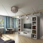 разработка дизайна маленькой квартиры